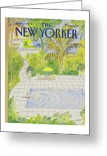 New Yorker April 21st, 1986 Greeting Card