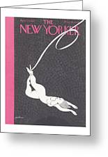 New Yorker April 23rd 1938 Greeting Card