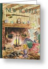 New Yorker April 24th, 1948 Greeting Card