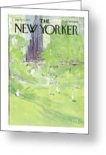 New Yorker April 24th, 1971 Greeting Card