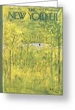 New Yorker April 28th, 1951 Greeting Card