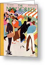 New Yorker April 30th, 1932 Greeting Card