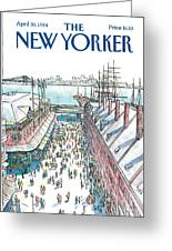 New Yorker April 30th, 1984 Greeting Card