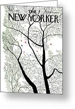 New Yorker April 3rd, 1971 Greeting Card
