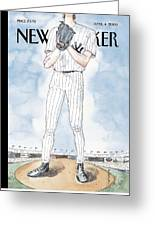 New Yorker April 4th, 2005 Greeting Card by Barry Blitt