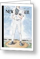 New Yorker April 4th, 2005 Greeting Card