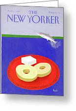 New Yorker April 6th, 1992 Greeting Card