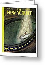 New Yorker April 7th 1962 Greeting Card