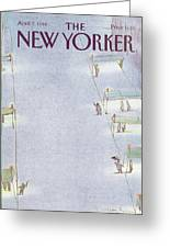 New Yorker April 7th, 1986 Greeting Card