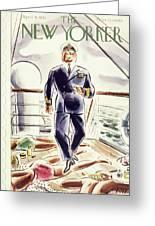 New Yorker April 9 1938 Greeting Card