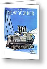 New Yorker August 10th, 1957 Greeting Card