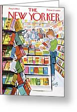 New Yorker August 11th, 1962 Greeting Card