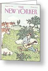 New Yorker August 13th, 1984 Greeting Card