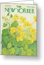 New Yorker August 14th, 1971 Greeting Card