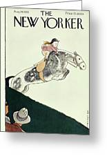 New Yorker August 24 1935 Greeting Card