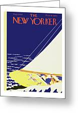 New Yorker August 27 1932 Greeting Card