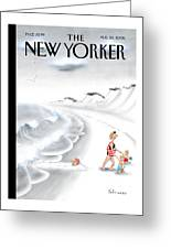 New Yorker August 28th, 2006 Greeting Card