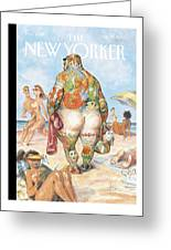 New Yorker August 29th, 2005 Greeting Card