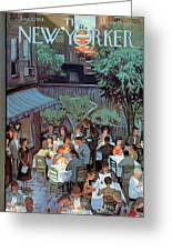 New Yorker August 2nd, 1958 Greeting Card