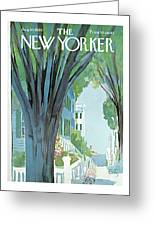 New Yorker August 30th, 1969 Greeting Card