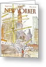 New Yorker August 31st, 1981 Greeting Card