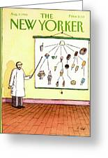 New Yorker August 4th, 1986 Greeting Card