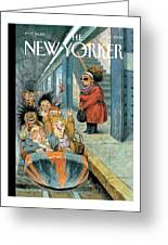 New Yorker December 11th, 2006 Greeting Card