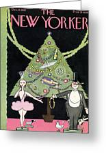New Yorker December 12th, 1925 Greeting Card