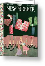 New Yorker December 12th, 1942 Greeting Card
