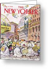 New Yorker December 13th, 1993 Greeting Card
