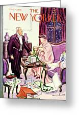 New Yorker December 14 1940 Greeting Card
