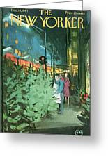 New Yorker December 14th, 1963 Greeting Card