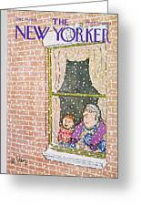 New Yorker December 14th, 1968 Greeting Card