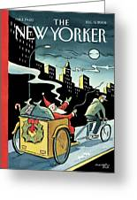 New Yorker December 15, 2008 Greeting Card