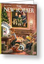 New Yorker December 16th, 1996 Greeting Card