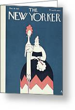 New Yorker December 19th, 1925 Greeting Card