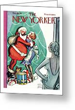 New Yorker December 19th, 1931 Greeting Card