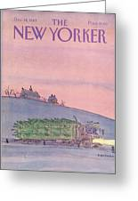 New Yorker December 19th, 1983 Greeting Card