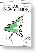 New Yorker December 19th, 1988 Greeting Card