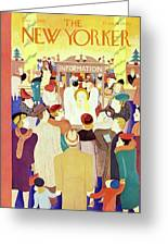 New Yorker December 2 1939 Greeting Card