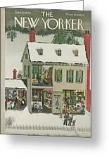 New Yorker December 21st, 1946 Greeting Card