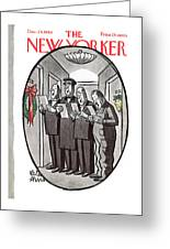 New Yorker December 24th, 1960 Greeting Card