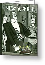 New Yorker December 25th, 1948 Greeting Card