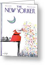 New Yorker December 25th, 1971 Greeting Card