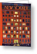 New Yorker December 26, 1953 Greeting Card