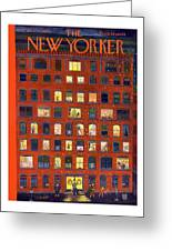 New Yorker December 26th, 1953 Greeting Card