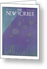 New Yorker December 27th, 1976 Greeting Card