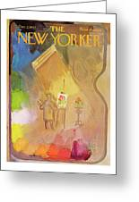 New Yorker December 2nd, 1967 Greeting Card