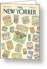 New Yorker December 2nd, 1991 Greeting Card