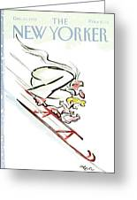 New Yorker December 30th, 1991 Greeting Card